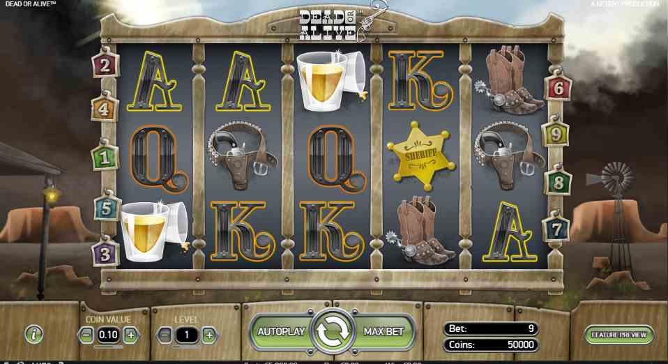 Dead or Alive spelautomaten